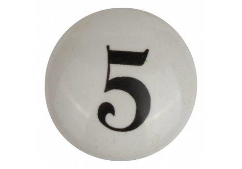 Meubelknop nummer 5