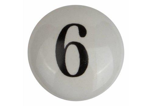 Meubelknop nummer 6