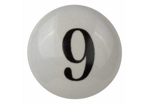 Meubelknop nummer 9