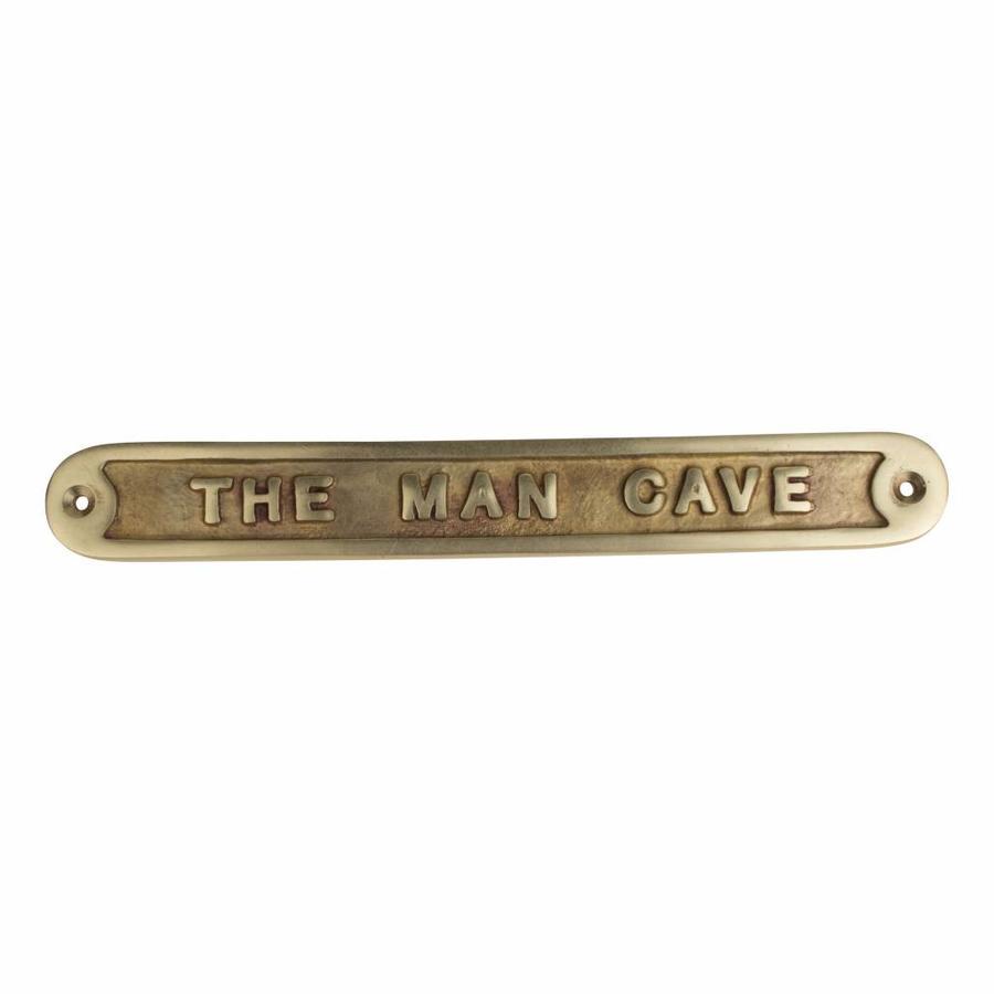 """Tekstbordje """"The Man Cave"""""""