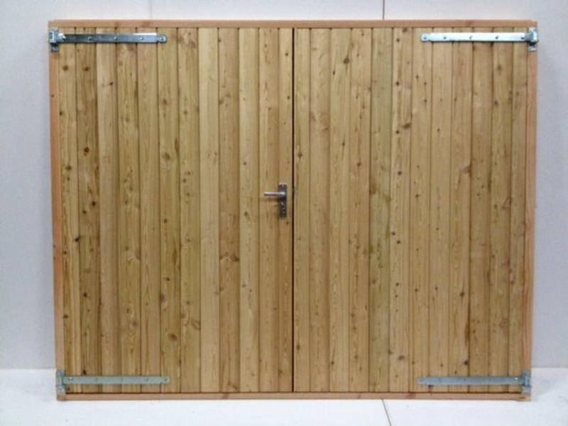 Douglas dubbele deur - Houthandel van Gelder