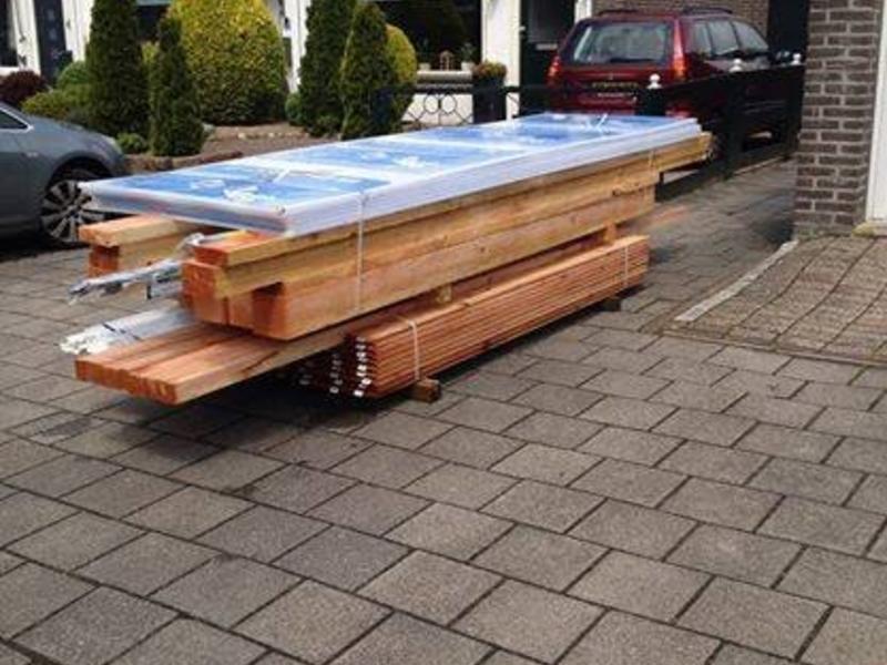 Van Gelder Hout Douglas veranda 300x300 (3x3m)