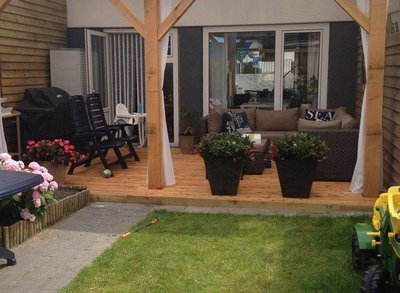 Douglas veranda 400x400cm