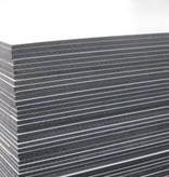 Van Gelder Hout Hpl plaat aktie prijs 1300x3050mm dubbelzijdig wit