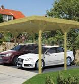 Dubbele Carport 600x500cm (6x4m)