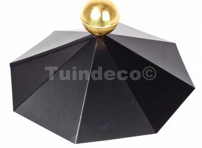 Afdekkap voor achthoekig dak