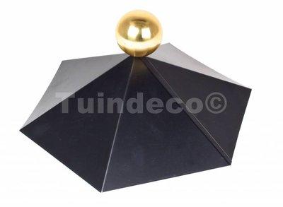 Afdekkap voor zeshoekig dak
