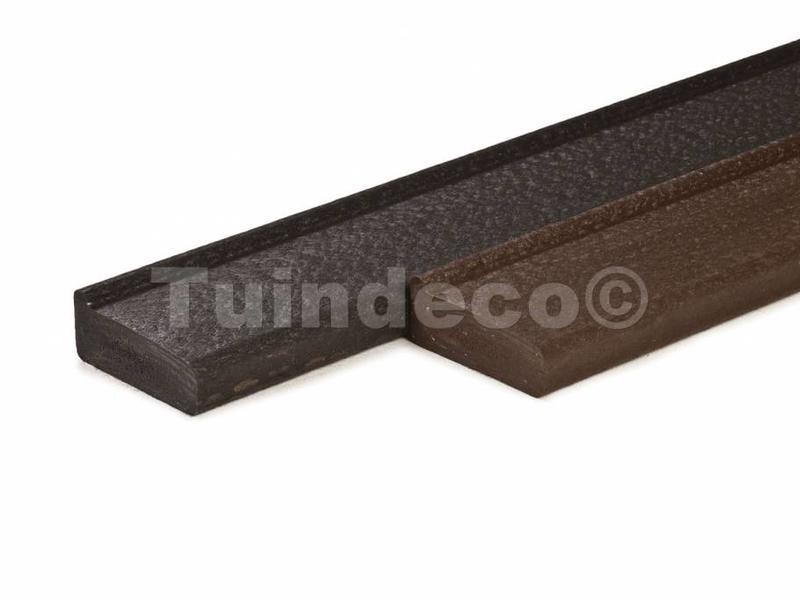 Tuindeco Funderingsbalk gerecycled kunststof standaard