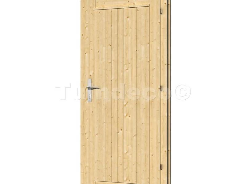 Tuindeco Enkele deur DL10 voor Blokhutten