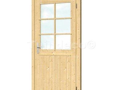 Extra hoge en brede enkele deur