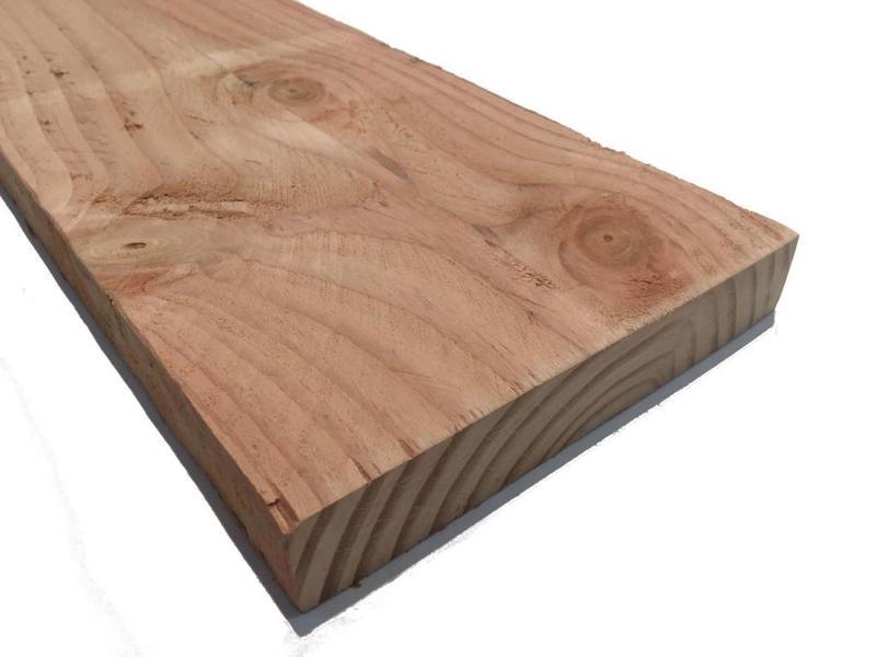 Douglas steigerplank 32x200mm → steigerhout planken houthandel