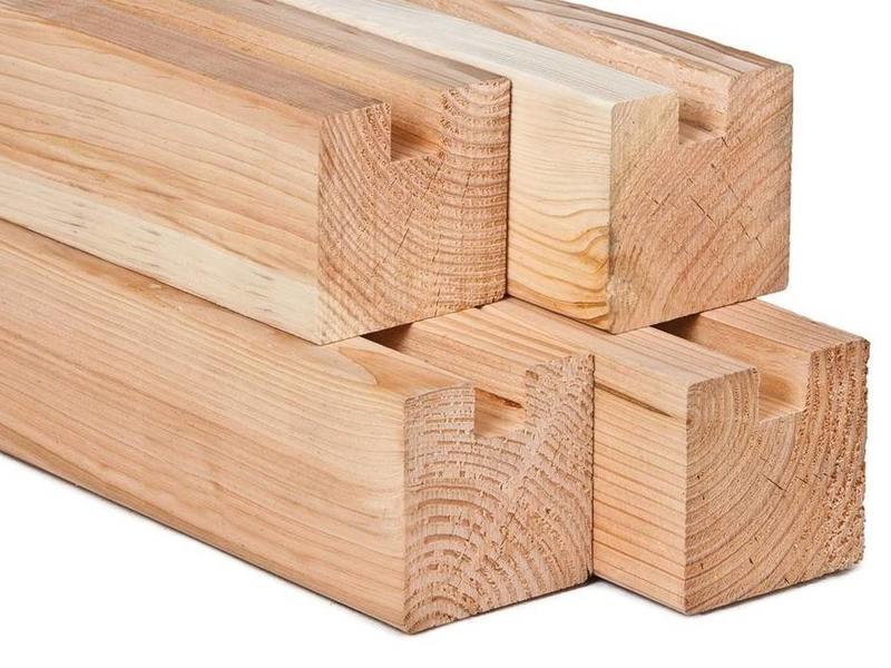 Van Gelder Hout Douglas stapelbouw eindpaal