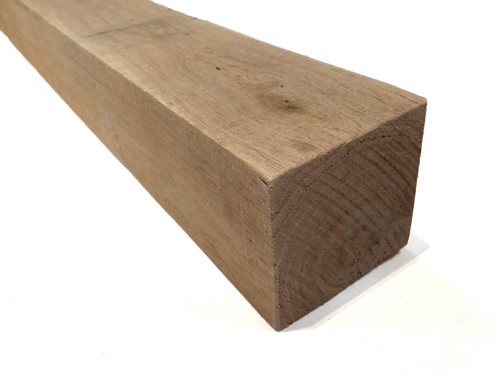 eiken balk 100 x 100 mm 10x10 cm houthandel van gelder. Black Bedroom Furniture Sets. Home Design Ideas