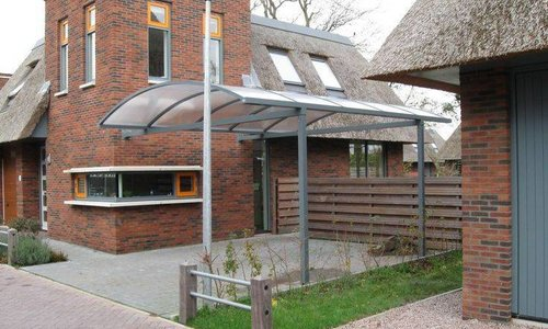 carport en garage bouwpakket hout aluminium houthandel van gelder. Black Bedroom Furniture Sets. Home Design Ideas