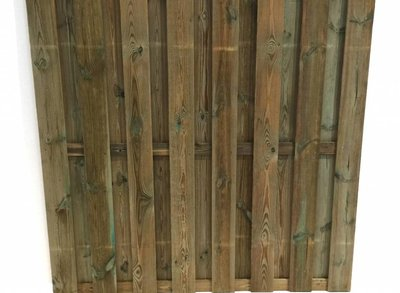 Schutting 15 planks actie (per stuk)