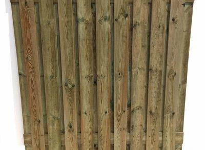 Schutting 19 planks actie (per stuk)