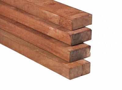 Hardhouten Regel Fijnbezaagd 40x90mm