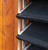 Tuindeco Flex Fence RVS Zelfbouwpakket Lamellen Schutting