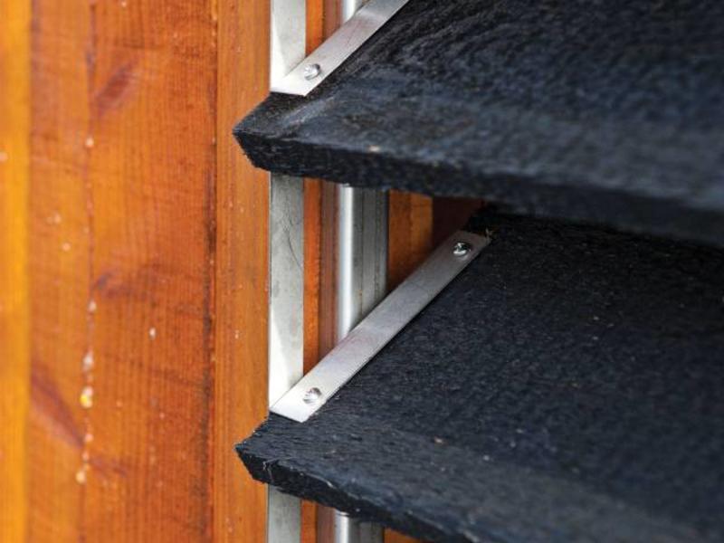 Flex Fence RVS Zelfbouwpakket Lamellen Schutting