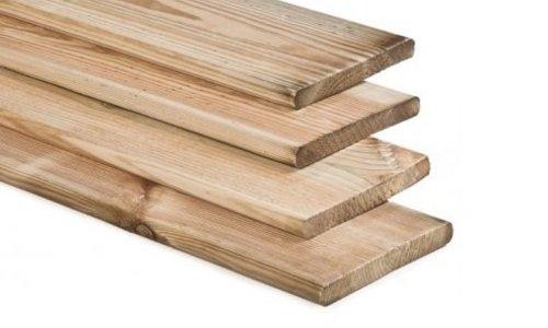 Geïmpregneerde Planken