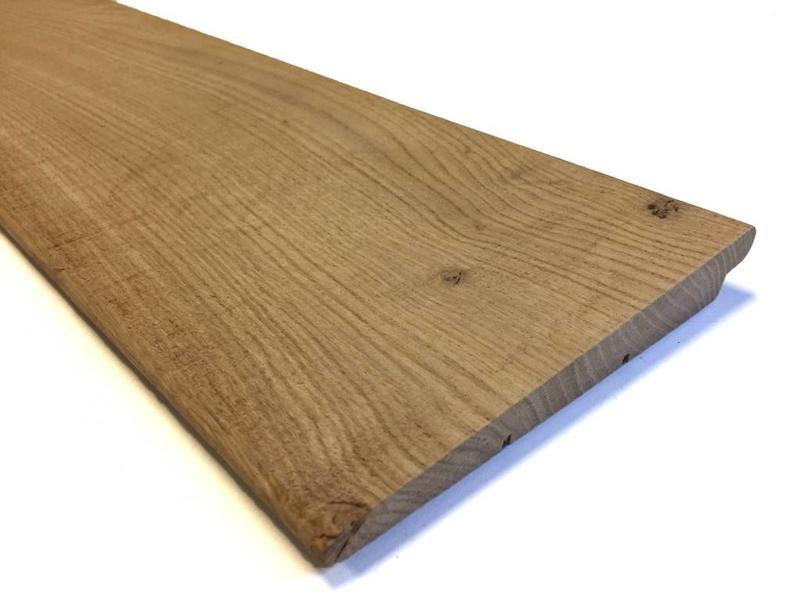 Eiken zweeds rabat u e mm eiken rabatdelen houthandel van