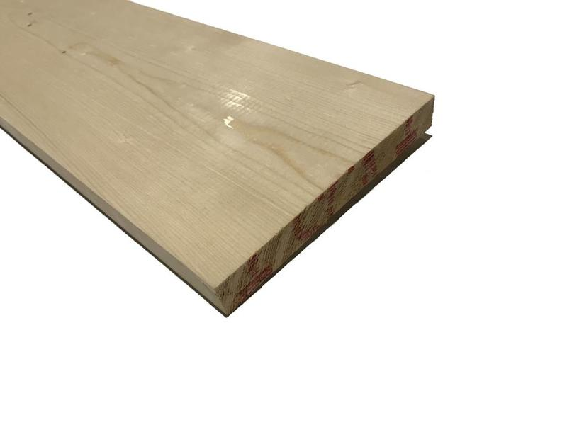 Vuren plank geschaafd mm onbehandeld vurenhout