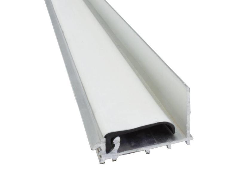 Van Gelder Hout Aluminium Muurprofiel voor Polycarbonaat Dakplaten