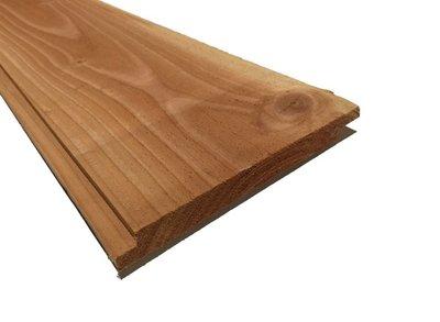Douglas plank dubbel lip profiel 18x190mm