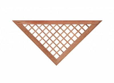 Hardhout kader voor recht scherm