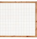 Tuindeco Gaaselement met Lariks Douglas Houten Kader 180x180cm