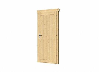 Vuren enkele deur DL10 linksdraaiend