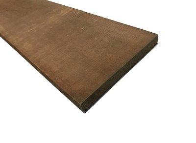 Hardhouten plank 22-200mm