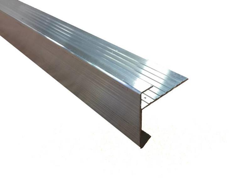 Van Gelder Hout Aluminium daktrim 45/45