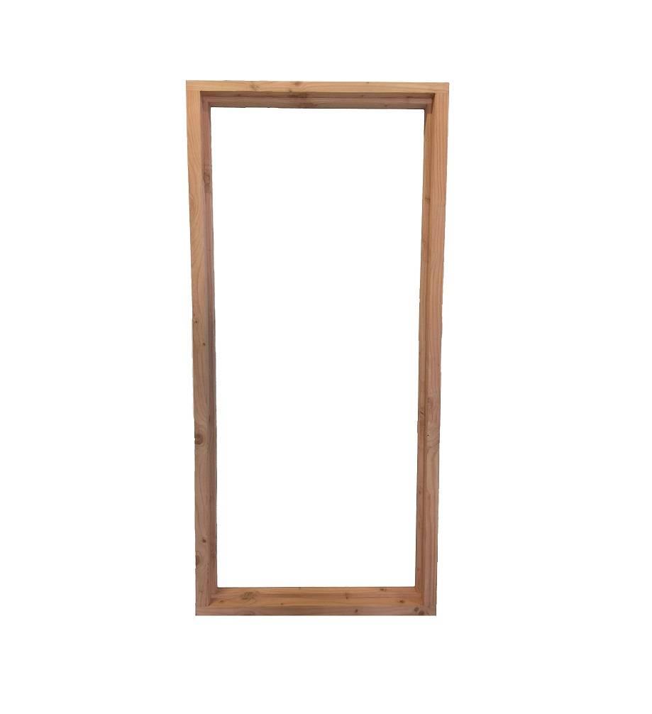 dichte buitendeur nr a achterdeur met dubbel glas de buffetkast lexmond white wash x x cm. Black Bedroom Furniture Sets. Home Design Ideas