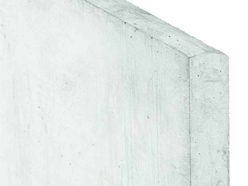 Tuindeco Gladde betonnen onderplaat lichtgrijs