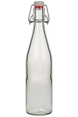 glasflasche 0 5 liter mit b gelverschluss cup trends. Black Bedroom Furniture Sets. Home Design Ideas