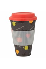Mehrwegbecher Bamboo Star Fantasy - Coffee