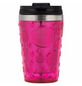 THERMOBECHER Rainbow Bubble - neon pink
