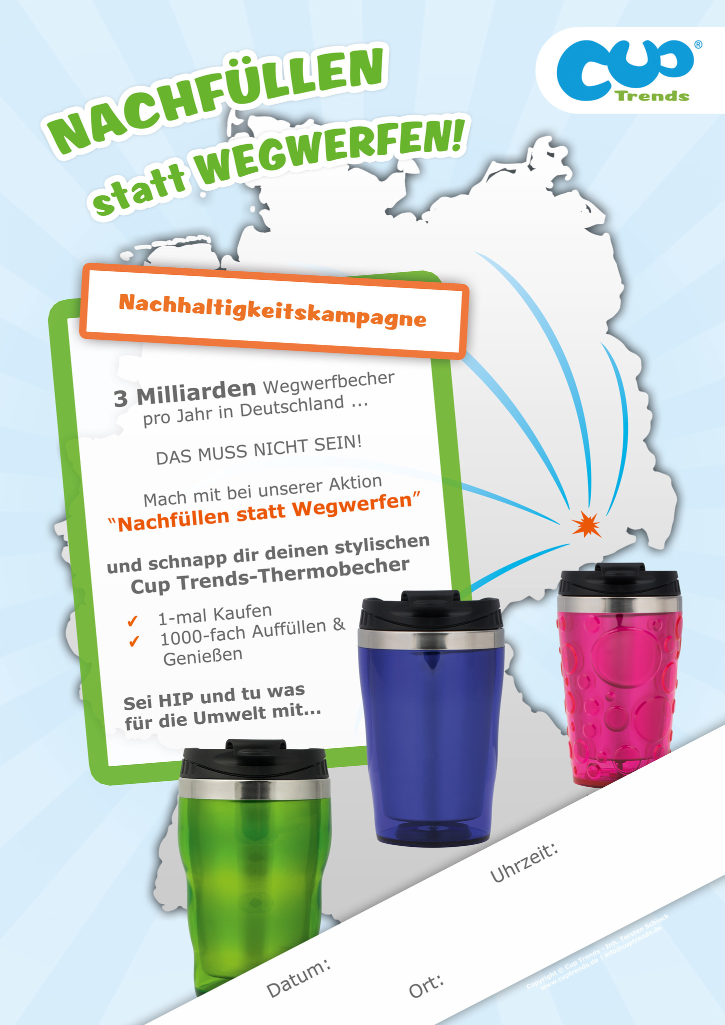 Cup Trends - Kampagne