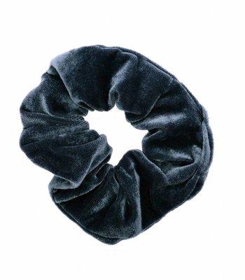 Velvet scrunchie - Grey