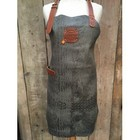 KF Leather apron Caiman leather gray 74 cm