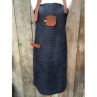 KF Leather apron Caiman leather Jeans 74 cm