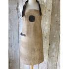 KF Leather apron Caiman leather beige 74 cm