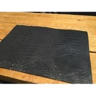 KF Placemats Leather Cayman Nero