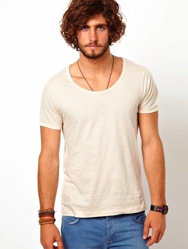 Scotch&Soda T-shirt with bound neck