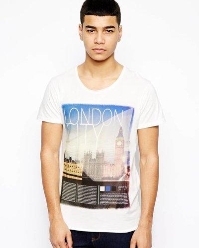 T-shirt mit London print