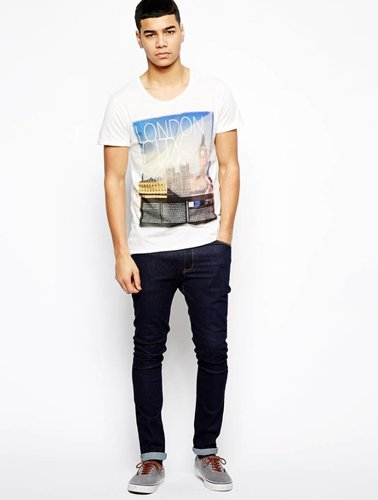 T-shirt mit London print