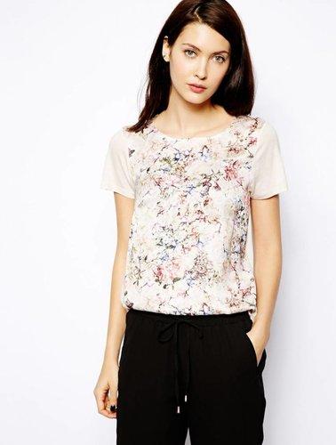 T-shirt mit Blumendruck