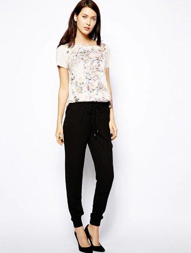 T-shirt met bloemenprint