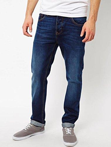 Slim jeans blauw